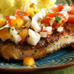 Grilled Pork Chops with Fresh Nectarine Salsa Recipe