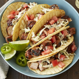 Grilled Pork Tenderloin Tacos