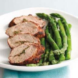 Grilled Pork Tenderloin with Aquavit Seasonings (Snapse Krydret Svine Mørbr