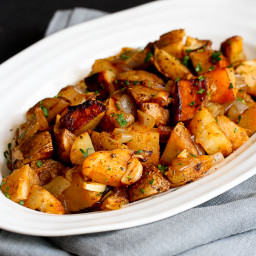 Grilled Potatoes Recipe with Rosemary and Smoked Paprika