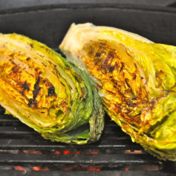 Grilled Romaine Let­tuce
