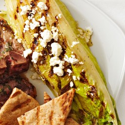 Grilled Romaine with Feta