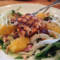 Grilled Salmon and Citrus Salad