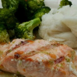 Grilled Salmon with Habanero-Lime Butter Recipe