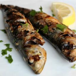 Grilled Sardines with Lemon, Garlic, and Paprika