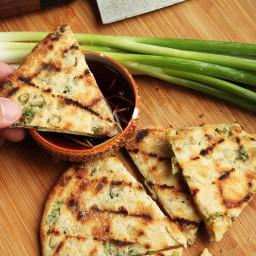 Grilled Scallion Pancakes Recipe