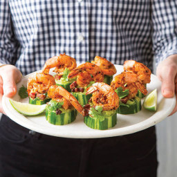 Grilled Shrimp and Guacamole