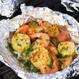 Grilled Shrimp Boil Packets