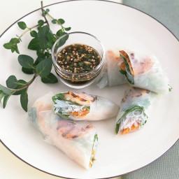 Grilled Shrimp Summer Rolls