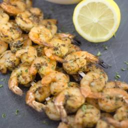 Grilled Shrimp with Lemon and Oregano