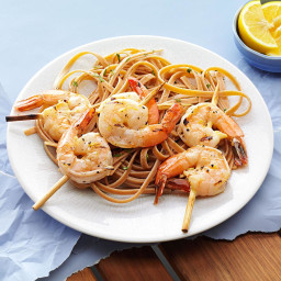 Grilled Shrimp with Lemon Vinaigrette Recipe