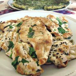 Grilled Skinless Boneless Italian Chicken Breasts (Pollo Alla Griglia)