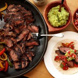 Grilled Skirt Steak Fajitas Recipe
