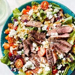 Grilled Skirt-Steak Salad