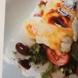 Grilled Sole Fillet With Whitestone Rarebit & Nicoise