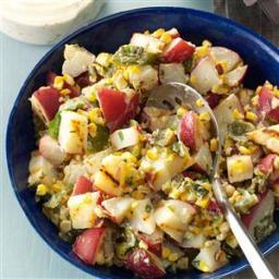 Grilled Southwestern Potato Salad Recipe