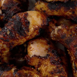 Grilled Spice-Rubbed Chicken Legs