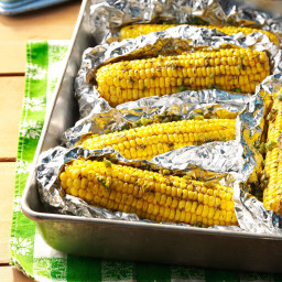 Grilled Spicy Corn on the Cob Recipe