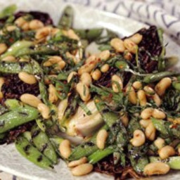 Grilled Spring Radicchio Salad