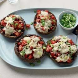 Grilled Stuffed Portobello Mushroom Caps