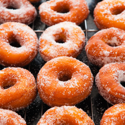 Grilled Sugar and Cinnamon Donuts