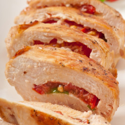 Grilled Sun-Dried Tomato And Basil Stuffed Chicken -Bernard