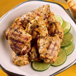Grilled Tarragon-Dijon Thighs