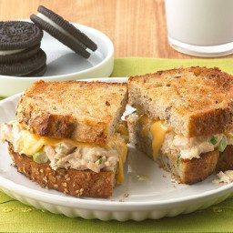 Grilled Tuna Cheese Melt