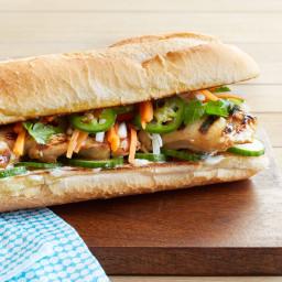 Grilled Vietnamese Chicken Sandwiches