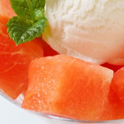 Grilled Watermelon Sundae