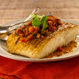 Grilled White Fish with Chermoula