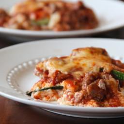 Grilled Zucchini Lasagna
