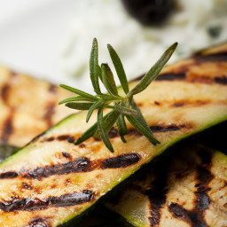 Grilled Zucchini with Lemon Butter