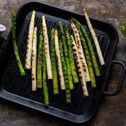 Grilled Asparagus With Lemon Dressing