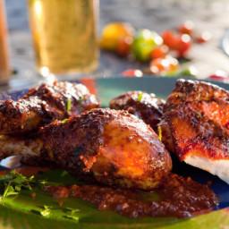 Grilled Chicken Mole
