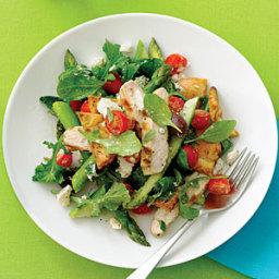 Grilled Chicken Pita Salad
