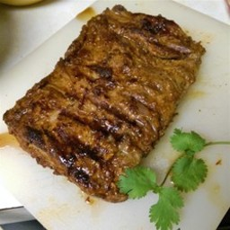 Grilled Chipotle Skirt Steak