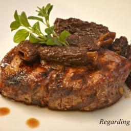 Grilled Filet Mignon with Ginger and Red Wine Recipe