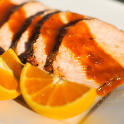 Grilled Orange-Chipotle Pork Loin