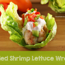 Grilled Shrimp Lettuce Wraps Recipe