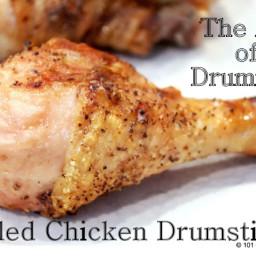 Grilling Chicken Drumsticks- The Art of Drummies