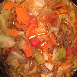Ground Beef and Cabbage Stew