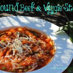 Ground Beef and Veggie Stew