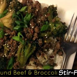 Ground Beef & Broccoli Stir-Fry
