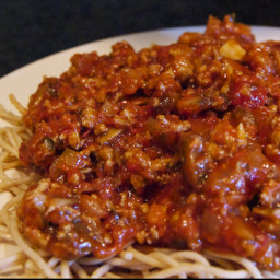Ground Turkey Spaghetti Sauce