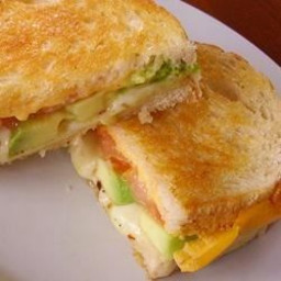 Grown Up Grilled Cheese Sandwich