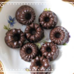 Grund-chokolade uden sukker