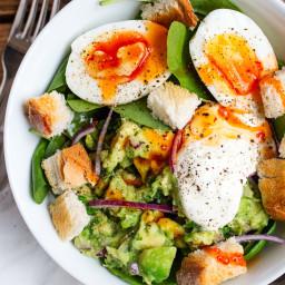 Guacamole and Egg Breakfast Bowl