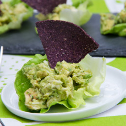 Guacamole Chicken Lettuce Wraps