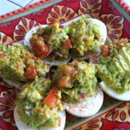 Guacamole Egg Bombs